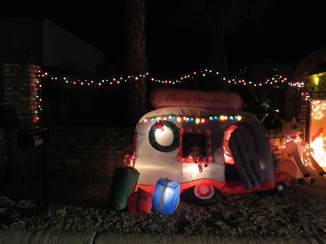 christmas in the desert paradise by the rv lights