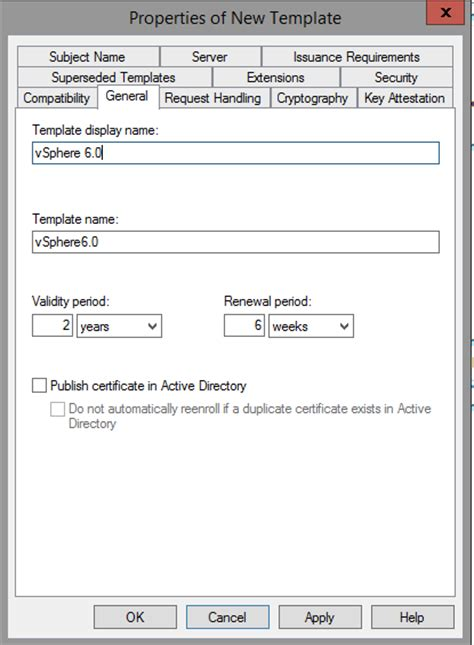 sle certificate template creating a microsoft certificate authority template for