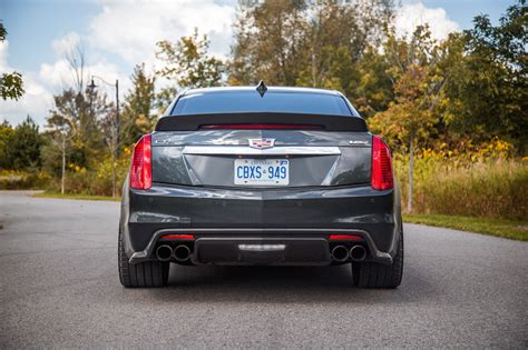 2017 Cadillac Cts V by Review 2017 Cadillac Cts V Canadian Auto Review