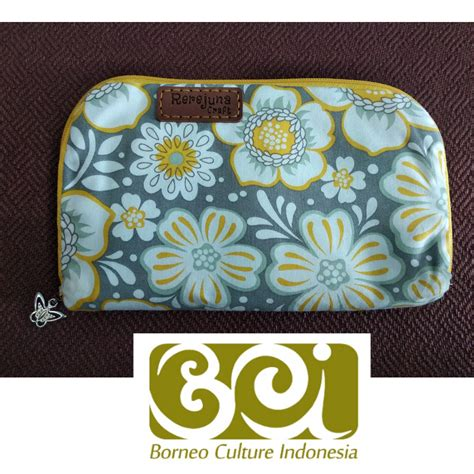 Dompet Smart Wallet Borneo By Mammora sweety wallet dompet manis at borneo culture indonesia craft store tamasya puri wisata