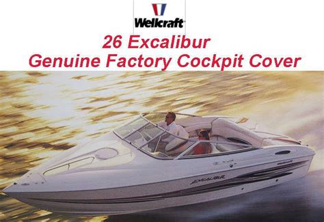 wellcraft boat canvas sell wellcraft excalibur 26 2002 cockpit cover navy blue