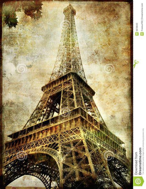 imagenes abstractas de la torre eifel torre eiffel fotos de stock imagem 6878643
