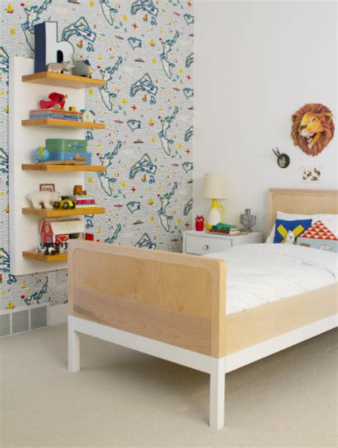 children room wallpaper 41 awesome kids rooms with wallpapers kidsomania