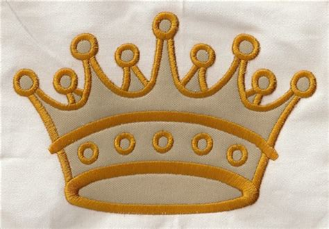 embroidery design crown crown applique embroidery designs machine embroidery