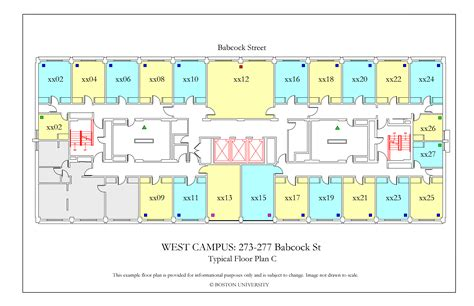 boston college floor plans west cus floor plans 187 housing boston university
