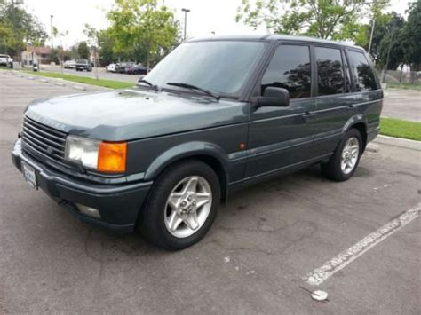 sell used 1996 land rover range rover in south gate california united states