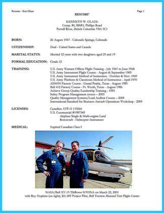 Low Time Pilot Resume by Successful Low Time Airline Pilot Resume How To Write A