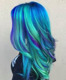 hair with color 25 best ideas about blue green hair on teal