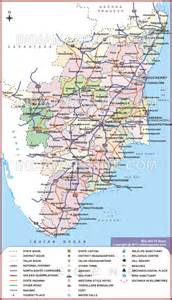us road map distances tamilnadu road map with distance image search results