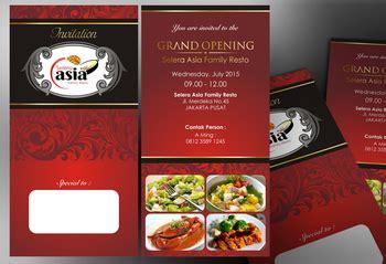 desain kartu undangan grand opening sribu desain kartu undangan desain undangan untuk pembuka