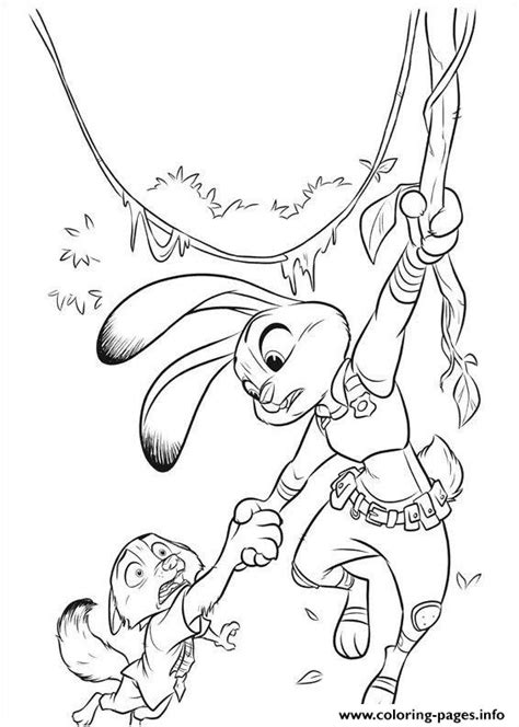 Zootopia 14 Coloring Pages Printable Coloring Pages Zootopia