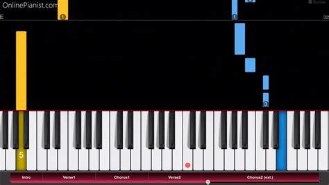 piano tutorial way way we know the way moana soundtrack easy piano tutorial