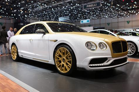 bentley flying spur modified mansory bentley flying spur editorial image image of