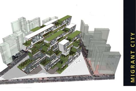 design competition for architects in india hp skyline winners migrant city 171 inhabitat green