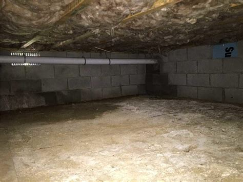 dirt floor basement solutions quality 1st basements crawl space repair photo album musty basement and crawl space fixed in