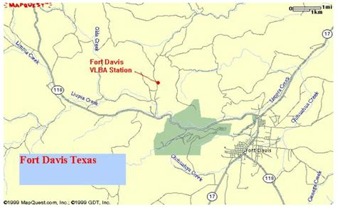 map of fort davis texas fort davis texas