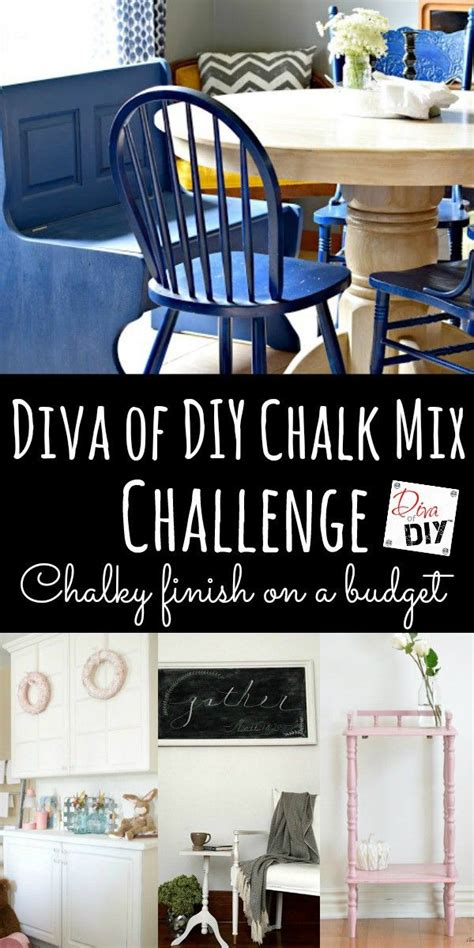 diy chalk paint mix painting furniture of diy chalk mix challenge
