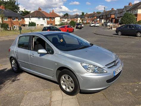 peugeot car and insurance package peugeot 307 1 4 hdi brillaint car cheap insurance 163 30 tax