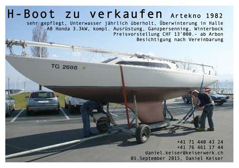 zu verkaufen h boot artekno gebraucht keiserwerk ch