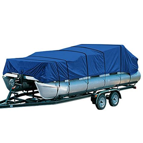 aqua armor boat cover empirecovers aqua armor pontoon boat covers fits 20ft to