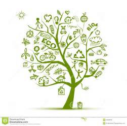 green plans green ecology tree concept for your design royalty free