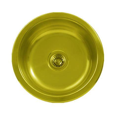 Brass Kitchen Sink by Whitehaus Collection Undermount Brass 18 In Single Bowl