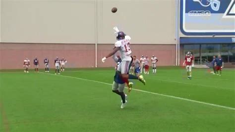 the science of odell beckham jrs incredible onehanded td catch 2014 odell beckham jr putting on a show with insane one handed
