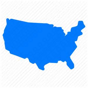 usa map icon free america american country democracy freedom location