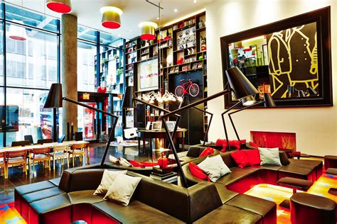 New York Home Design Trends new citizenm hotels in paris and new york