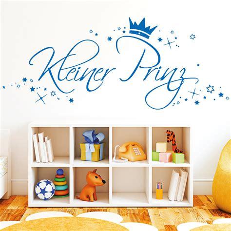 Wandtattoo Kinderzimmer Kleiner Prinz by 10309 Wandtattoo Loft Kleiner Prinz Sterne Krone Jungen