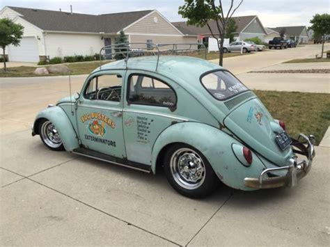 Rat Rod Volkswagen Beetle by 1963 Volkswagen Beetle Bug Vintage Rat Rod Lowered