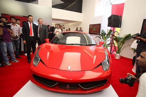 Cost Of Ferrari Ff In India by Ferrari Opens Shop In India Cheapest Model Costs Half A