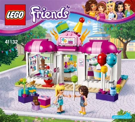 Original Lego Friends Heartlake Shop 41132 lego heartlake shop 41132 friends