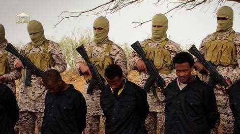 Stagecraft isis video execution of ethiopians in libya appears