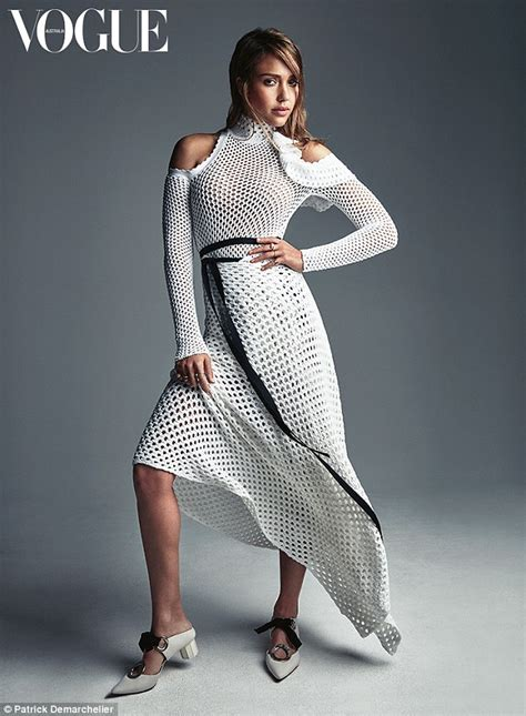 Fashion Designers Issue Model Guidelines by Alba Poses For Vogue Australia S February Issue In