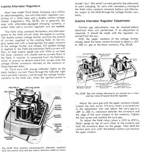 ford 3 post regulator to alternator wiring diagram autos