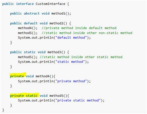 java 9 interface private methods howtodoinjava