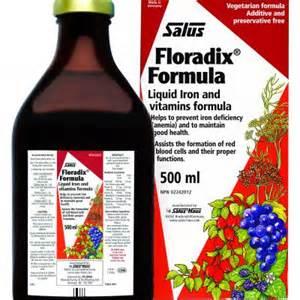 salus floradix formula liquid iron 700ml sunrise health foods