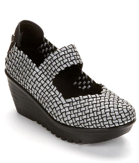 Lulia Shoes bernie mev lulia reflective platform wedges shoes