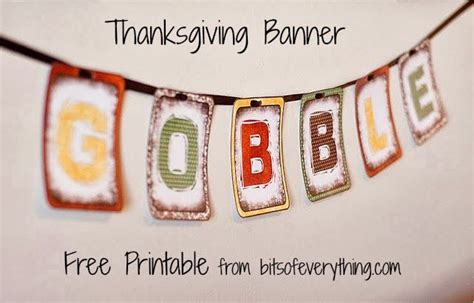 printable free thanksgiving banner 30 free thanksgiving printables thesuburbanmom