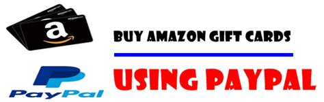 Amazon Gift Card Pay With Paypal - how to buy amazon gift card with paypal thekonsulthub com