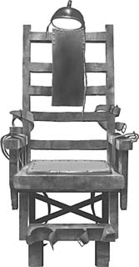 esecuzioni sedia elettrica pena di morte