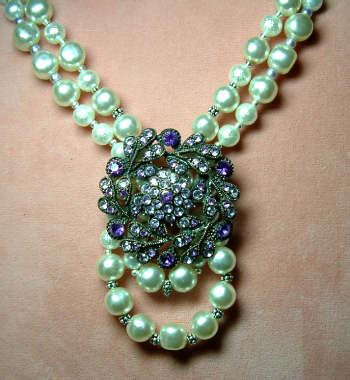how to make fashion jewelry costume jewelry redux necklace beaded jewelry