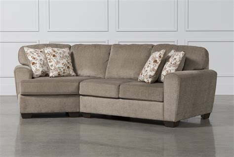 Sectional Sofa With Cuddler Patola Park 2 Sectional W Laf Cuddler Chaise Living Spaces