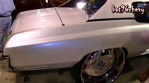 Cadillac Pearl White Paint Pearl White 1973 Chevy Caprice Quot Forgiato Donk Quot On 30