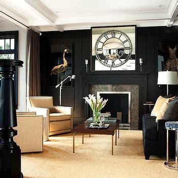 black sofa contemporary living room lda architects tan sofa design decor photos pictures ideas