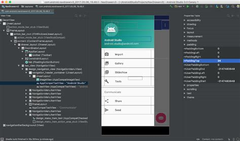 android layout design android studio android developers blog android studio 3 0 canary 1