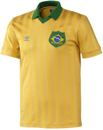 Brazil Home 2010 Retro retro brazil 18 19 kit football shirt history
