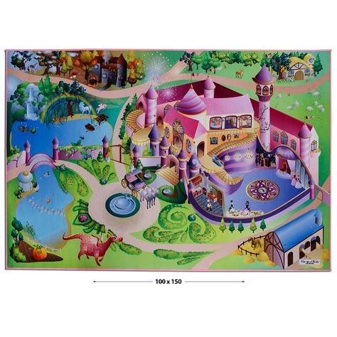 Tapis Jeux by Tapis Enfant Fille Grand Tapis De Jeu Th 233 Matique Du