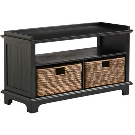 Holtom Storage Bench Rubbed Black Pier 1 Imports